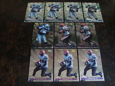 1995 Classic Images Football---Lot Of 10---Faulk (5)--Em.Smith (5)