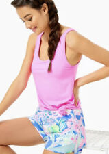 NWT Lilly Pulitzer Ocean Trail Shorts Peony For Your Thoughts Size Extra Large
