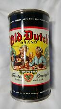 Flat Top Beer Can Old Dutch 106-4 Findlay Ohio Keglined Graphic