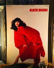 Kate bush mounted 14 x 20 Toshiba Japanese POSTER! Very rare