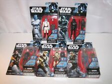 LOT OF 5 STAR WARS 3.75 FIGURES ROGUE ONE WAVE 3 ADMIRAL THRAWN BODHI ROOK RARE