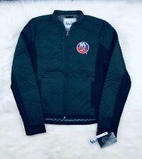 NHL New York Islanders Women's L Textured Performance Jacket, Black