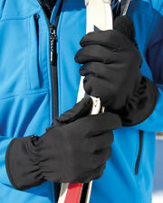 Result Softshell Thermal Gloves Waterproof Windproof Breathable Stretch (R364X)