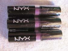 NYX Macaron Lippies - Violet Lot of 3 New & Sealed