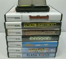 Lot of 9 Nintendo DS Games 7 with Cases and Instructions All Working