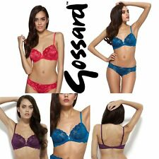 Gossard Gypsy Non Padded Underwired Lace Plunge Bra 11111 RRP£35.00