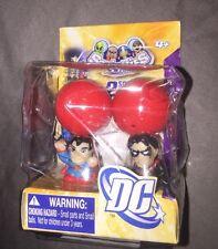 DC Universe Squinkies Superman Nightwing Blip Toys Set
