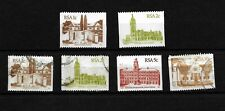 South Africa, 1982 Architecture, coil stamp selection MNH & used (SA105)