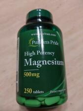 Puritan's Pride Magnesium 500 mg - 250 Tablets