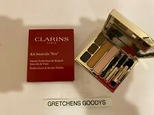 "Clarins Kit Sourcils ""Pro"" Perfect Eyes & Brows Palette NIB Full Size"