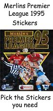 Merlin Premier League 1995 Pick the stickers you need. 1994/1995 merlins