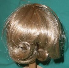 """doll wig blond 10"""" to 10.5"""" page-boy haircut"""