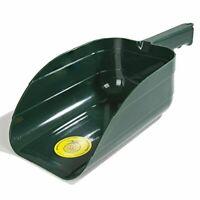 Intrepid International Miller Plastic Feed Scoop, Green, 2 Quart