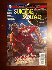 SUICIDE SQUAD # 27 NM 4TH SERIES NEW 52 HARLEY QUINN KING SHARK DEADHOT