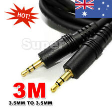 3M AUX Cable 3.5mm Stereo Audio Input Extension Male to Male Auxiliary Car Cord