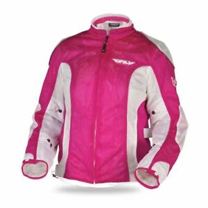 Fly Racing Coolpro II Mesh Motorcycle Riding Jacket Womens Pink
