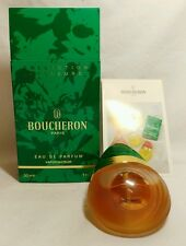 Eau de PARFUM BOUCHERON COLLECTION COULEURS vintage 30 ml spray