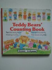 Teddy Bears' Counting Book by Brimax (1-3 Years) Educational Board Book - Good
