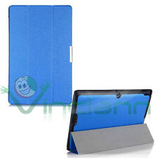 Custodia Smart Cover BLU per Asus Transformer Book T200TA case stand sottile