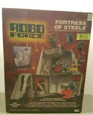 Robo Force Fortress of Steele Action Playset  Ideal 1984 Sealed New 80s Toys