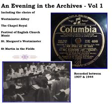 Evening in the Archives - Vol 1 - Traditional Choirs of the Early 20th Century