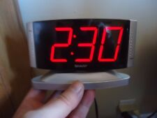 Vintage Sharp Model No.SPC033 Digital Large Number Display Alarm Clock