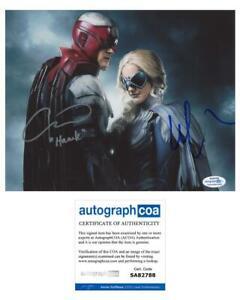 "Alan Ritchson & Minka Kelly ""Titans"" AUTOGRAPHS Signed 8x10 Photo ACOA"