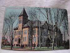 LONDON ONTARIO CANADA  Collegiate Institute early 1900's  Postcard