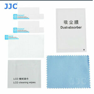 JJC LCP-EOS 6D LCD Film Screen Protector cover For Canon EOS 6D Camera 2 Pack
