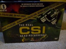 New & Sealed The Real CSI – Dead Reckoning – 6 DVD Box Set
