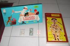 L'ALLEGRO CHIRURGO Editrice Giochi MB prima edizione 1968 OTTIMO
