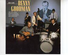 CD TRIO PIM JACOBSode aan Benny Goodman1987 EX (B3606)