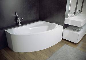 Offset Corner Bath*RIMA*SPACE SAVER 1300 x 850mm BATHTUB 130 x 85 OPTIONS