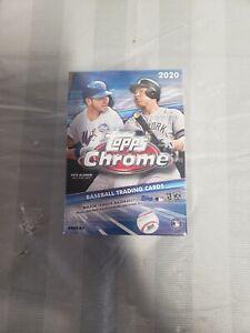 Topps Chrome Baseball Blaster Box Sealed 2020