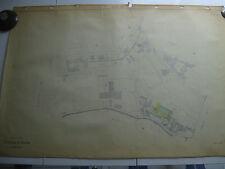 ROMA Mappa Catastale 427 VIA AURELIA GREGORIO VII COLLE GELSOMINO  1943