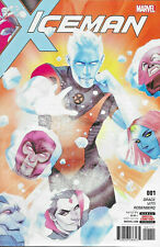 Iceman (2017) #1 Marvel Bobby Drake X-Men Sina Grace Alessandro Vitti mutants VF