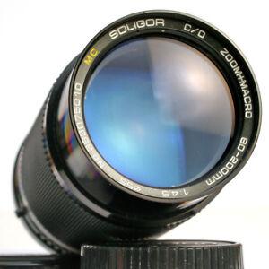 Soligor C/D 4,5 / 80-200 für Canon FD