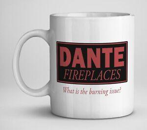 Alan Partridge inspired Dante Fires Mug