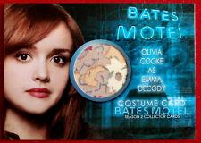BATES MOTEL (Season Two) - OLIVIA COOKE as Emma Decody - Costume Card - COC2