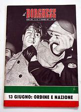 IL BORGHESE RIVISTA SETTIMANALE ANNO XXII N. 23 - 6 GIUGNO 1971