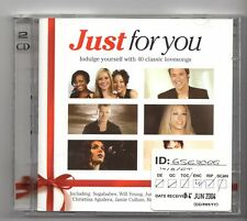 (JG120) Just For You, 40 Classic Love Songs various artists - 2004 double CD