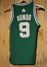 Youth Boston Celtics Rajon Rondo Kids Small Sewn Adidas Jersey +