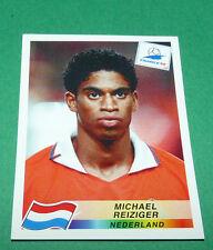 N°302 MICHAEL REIZIGER NEDERLAND PANINI FOOTBALL FRANCE 98 1998 COUPE MONDE WM