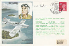HA9b Flown  London to  Auckland Signed  Pilot Captain D T Lambert
