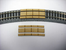 N Scale  LASER CUT CUSTOM 11 Inch Radius Curved Double Lane Crossing 2 Pack