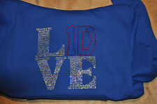 Rhinestone 1D - One Direction Sweatshirt Hoodie