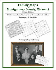 Family Maps Montgomery County Missouri Genealogy Plat