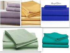 "Persian Collection 1800 Count Fitted Sheet  Deep Pocket 16"" Fully Elastic Sheets"