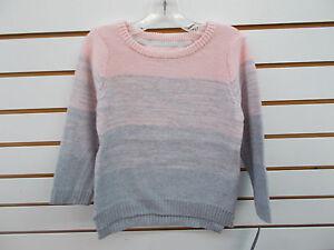 Girls Nautica $42.50 Pale Pink Fade to Gray Sweater Size 4 - 6X