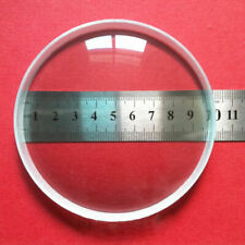 2pc 100mm Optical Glass Optics Double Concave Glass Lens For DIY Projector